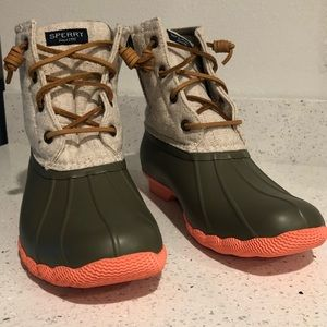Sperry All weather Duck Boots